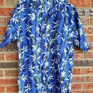 Basix mens size medium Hawaiian shirt